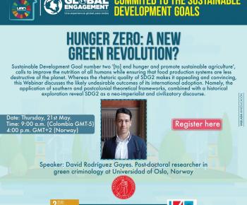 HUNGER ZERO: A NEW GREEN REVOLUTION?