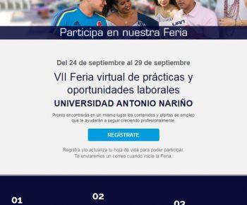 VII FERIA VIRTUAL DE PRÁCTICAS Y OPORTUNIDADES LABORALES UAN