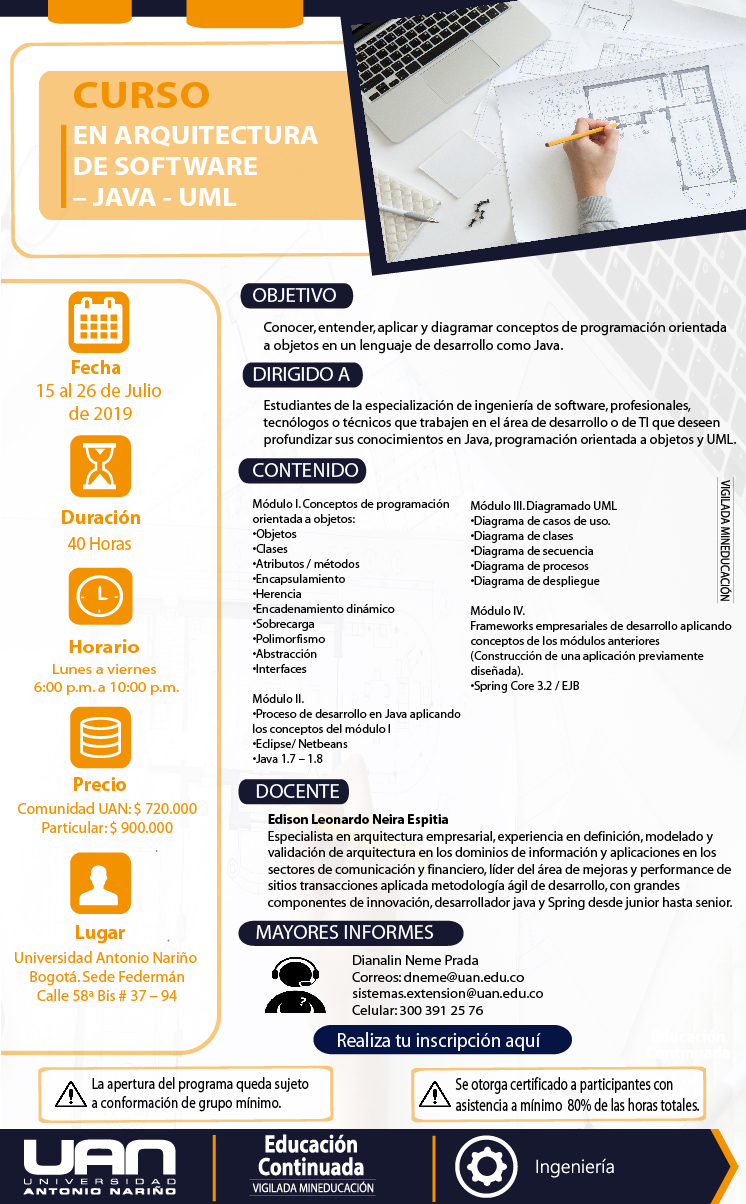 Arquitecturasoftwarejavauml federman2019 m for Curso arquitectura software